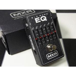 MXR エフェクター 6-Band Graphic EQ M-109 6バンド グラフィック イコライザー M109 グライコ|直輸入品|audio-mania