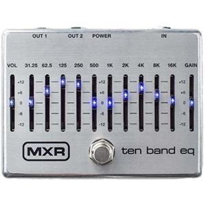 MXR エフェクター 10-Band Graphic EQ M-108S M108S|直輸入品|audio-mania