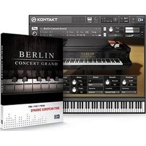 Native Instruments ネイティブインストゥルメンツ Berlin Concert Grand ベルリン コンサート グランド ピアノ|audio-mania
