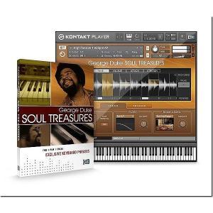Native Instruments ネイティブインストゥルメンツ George Duke Soul Treasures ジョージ・デューク|audio-mania