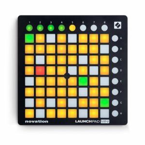 Novation ノベーション Launchpad Mini MK2 MIDIコントローラー  直輸入品 audio-mania