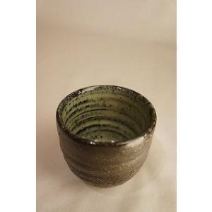 おちょこ 陶磁器 上野焼 天神窯 Agano-yaki Tenjingama ceramic cup|audio-mania