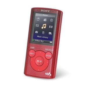 Sony ソニー ウォークマン 4GB MP3プレイヤー NWZ-E383 Red 直輸入品 中古 audio-mania