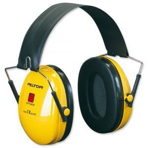 PELTOR ぺルター 3M イヤーマフ 防音 ヘッドホン Optime 1 H510A Yellow |直輸入品|audio-mania
