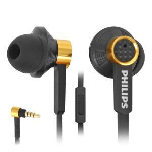 Philips フィリップス イヤホン 有線 高音質 マイク TX2 Black インイヤーヘッドホン|直輸入品|audio-mania