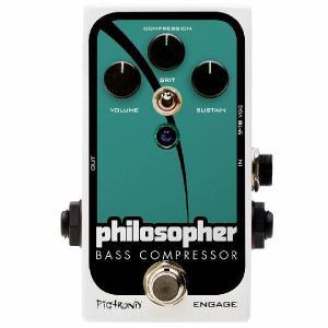 Pigtronix Philosopher's Bass Compressor エフェクター|直輸入品|audio-mania