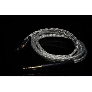 PlusSound プラスサウンド X8 Series Custom Cable リケーブル 交換用ケーブル MMCX コネクタ Shure シュア ヘッドホン用|audio-mania