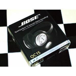 Bose ボーズ ノイズキャンセリング 有線 高音質 マイク付き ヘッドホンQuietComfort 15 QC15|直輸入品|audio-mania