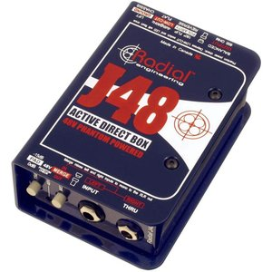 Radial J48 ラディアル アクティブ ダイレクトボックス DI Direct Box J-48 直輸入品 audio-mania
