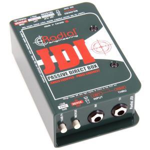 Radial JDI ラディアル パッシブ ダイレクトボックス DI Direct Box 直輸入品 audio-mania