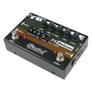 Radial プリアンプ PZ-Deluxe ピエゾ アコースティック楽器用 ラディアル|直輸入品|audio-mania