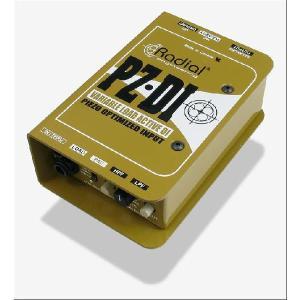 Radial PZ-DI ラディアル ピエゾ アコースティック楽器用 DI ダイレクトボックス Direct Box PZDI 直輸入品 audio-mania
