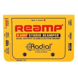 Radial リアンプ Reamp X-Amp ラディアル|直輸入品|audio-mania