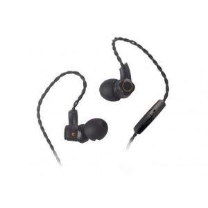 RockIt Sounds イヤホン 有線 高音質 マイク R-20M R20M インイヤー モニター イヤフォン ブラック audio-mania