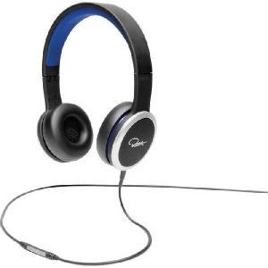 WeSC ウィーエスシー ヘッドホン ヘッドフォン 有線 高音質 RZA STREET (Black/Blue) おしゃれ|直輸入品|audio-mania