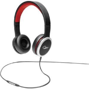WeSC ウィーエスシー ヘッドホン ヘッドフォン 有線 高音質 RZA STREET (Black/Red) ヘッドフォン ブラック/レッド │直輸入品|audio-mania