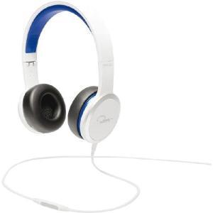 WeSC ウィーエスシー ヘッドホン ヘッドフォン 有線 高音質 RZA STREET(White/Blue)  おしゃれ |直輸入品|audio-mania