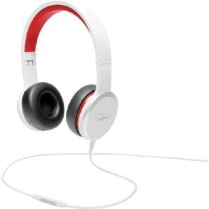 WeSC ウィーエスシー ヘッドホン ヘッドフォン 有線 高音質 RZA STREET (White/Red)  ホワイト/レッド おしゃれ |直輸入品|audio-mania