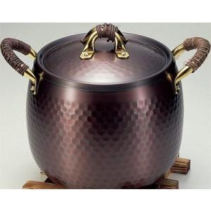 新光堂【純銅製】黒銅仕上げ 煮込み鍋20cm BC-4【日本製】|新品|audio-mania