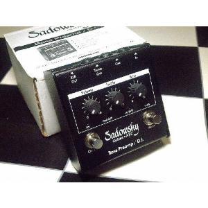 Sadowsky プリアンプ NYC Bass Pre amp/DI|直輸入品|サドウスキー|プリアンプ|audio-mania