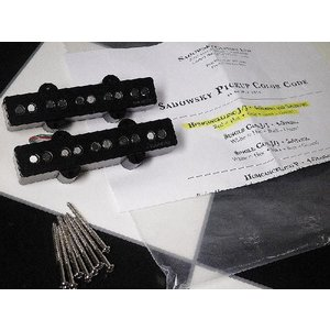 Sadowsky NYC サドウスキー ピックアップ ベース用 Humcancelling J/J for 5-string (pair)|直輸入品|audio-mania