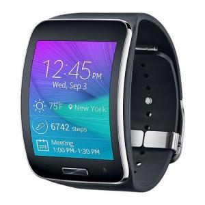 スマートウォッチ Samsung サムスン Galaxy Gear S ブラック SM-SM-R750PZ|直輸入品|中古|audio-mania