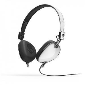 Skullcandy スカルキャンディー ヘッドホン 有線 高音質 マイク付き NAVIGATOR (White) S5AVDM-074 直輸入品 audio-mania