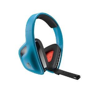 Skullcandy スカルキャンディ ワイヤレス ゲーミング ヘッドセット ヘッドホン スカルキャンディー SLYR (Blue) ゲーム用 PS|audio-mania