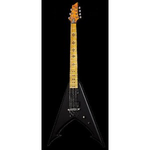 Schecter Jeff Loomis JLV-7 NT Stain Black シェクター エレキギター JLV7 ジェフ・ルーミス audio-mania