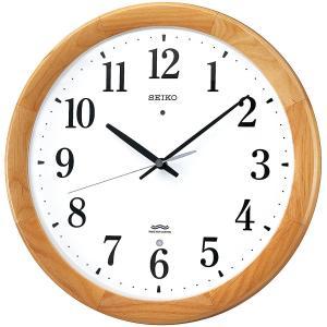 SEIKO CLOCK(セイコークロック) 掛け時計 電波 アナログ 木枠 天然色木地 KX311B |新品|audio-mania