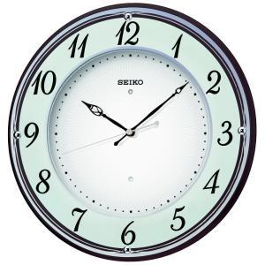 SEIKO CLOCK(セイコークロック) 掛け時計 電波 アナログ 木枠 薄茶 KX372B|新品|audio-mania