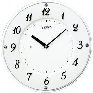 SEIKO CLOCK(セイコークロック) 掛け時計 上品でシンプルな薄型デザイン KX503W|新品|audio-mania