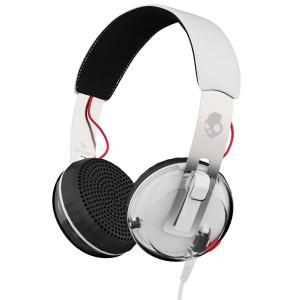 Skullcandy スカルキャンディー ヘッドホン 有線 高音質 マイク付き GRIND (White) S5GRHT-472 │直輸入品 audio-mania