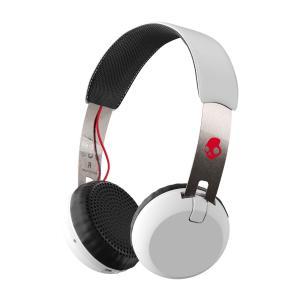 Skullcandy スカルキャンディー ヘッドホン Bluetooth ワイヤレス 高音質 マイク付き GRIND Wireless  (White ) S5GBW-J472  直輸入品 audio-mania