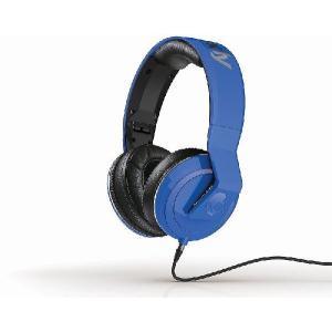 Skullcandy スカルキャンディー ヘッドホン 有線 高音質 マイク付き Method Blue おしゃれ S6MSFM-289│直輸入品 audio-mania