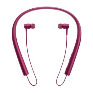Sony ソニー ブルートゥースイヤホン MDR-EX750BT/PM h.ear in Wireless ボルドーピンク  ハイレゾ音源対応 Bluetooth対応│直輸入品|audio-mania