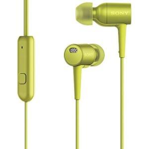 Sony ソニー ノイズキャンセリングイヤホン MDR-EX750NA ライムイエロー h.ear in NC  ハイレゾ音源対応 │直輸入品|audio-mania