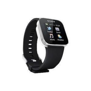 Sony ソニー Smartwatch MN2 スマートウォッチ ブラック ホワイト リストバンド 付属|直輸入品|国内販売完了品|audio-mania
