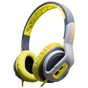SOUL Electronics ソウルエレクトロニクス ヘッドホン ヘッドフォン 有線 高音 質 マイク TRANSFORM Superior Active GREEN│直輸入品|audio-mania