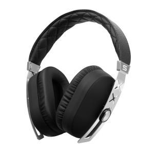 SOUL Electronics ヘッドホン ヘッドフォン ノイズキャンセリング 有線 高音質 マイク JET PRO (Deluxe Silver) SJ27SL-1│直輸入品|audio-mania