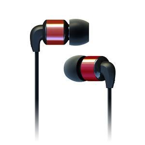 Sound Magic イヤホン 有線 高音質 PL-11 ダイナミック型  RED PL11 レッド|audio-mania