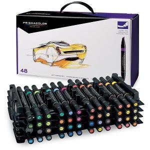 サンフォード プリズマカラー マーカー SANFORD Prismacolor Marker Premier Chisel Fine Double|audio-mania