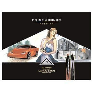 SANFORD Prismacolor サンフォード プリズマカラー Premier Double Ended アートマーカー 72色セット|直輸入品|audio-mania