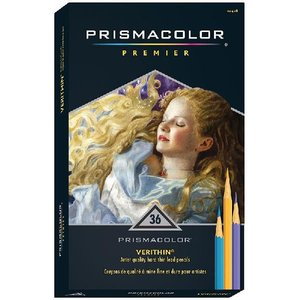 プリズマカラー 色鉛筆 SANFORD Prismacolor Premier Verithin Colored Pencils 36色セット|audio-mania