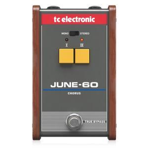 TC Electronic エフェクター JUNE-60 ヴィンテージコーラス Juno-6 BBD素子仕様/2ボタンインターフェースコーラスペダル│直輸入品|audio-mania