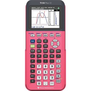 Texas Instruments TI-84 Plus CE Coral ピンク グラフ電卓 │直輸入品|audio-mania