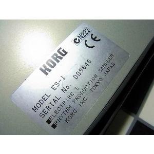 中古 KORG コルグ サンプラー ES-1 / ES 1 ELECTRIBE S ES1 ビートボックス リズムマシン ドラム 打ち込み 音源 audio-mania 03
