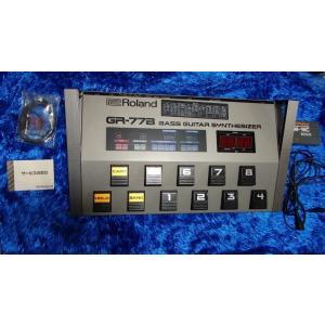 中古 Roland ローランド ギター・ベース シンセサイザー MIDI GR-77B GR 77B ローランド ギター ベース シンセ GR77B audio-mania