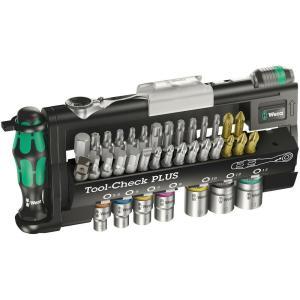 WERA ヴェラ Tool-Check PLUS ビットセット&ビットハンドルセット 056490 |直輸入品|audio-mania
