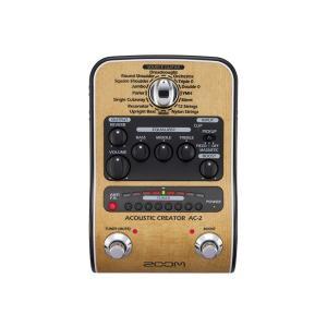 Zoom ズーム AC-2 DI機能付きプリアンプ audio-mania